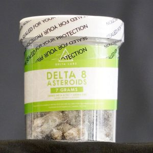 DELTA 8 ASTEROIDS – 7GRAMS (250MG DELTA 8 THC + 600MG CBD)