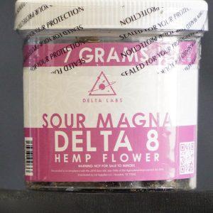 "DELTA 8 ""SOUR MAGNA"" DELTA 8 HEMP FLOWER – 7GR"