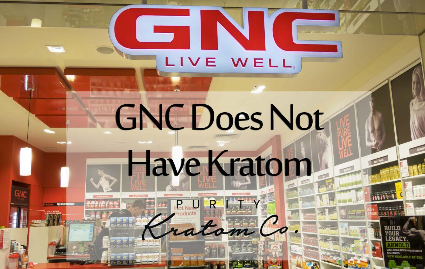 GNC Kratom